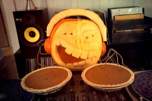 DJ Pumpkin in da haus!