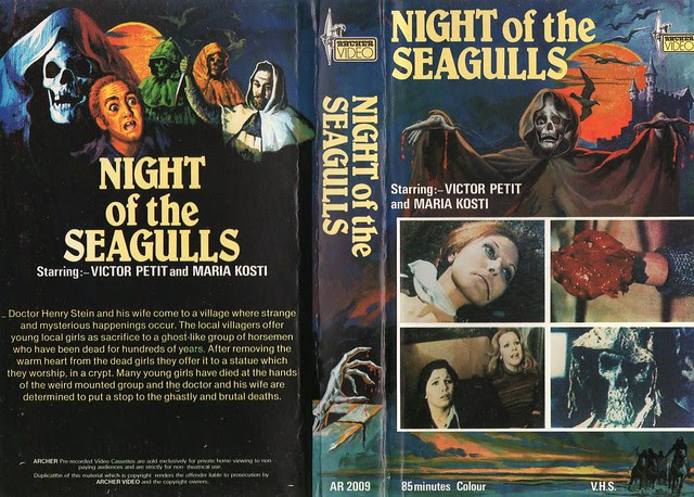 Night Of The Seagulls (VHS Box Art)