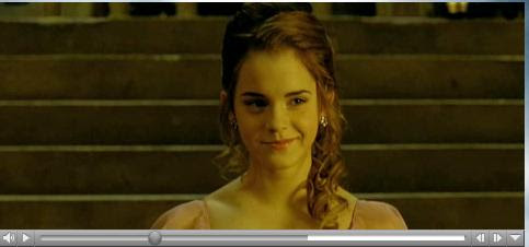 Hermione in The Gobloet of Fire