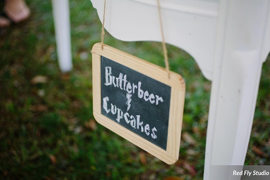 Butterbeer and Cupcakes Wedding at the Southwood House