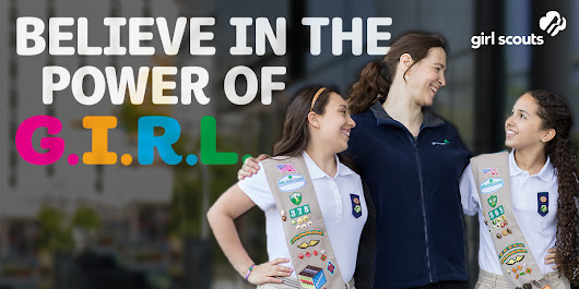 I just signed up for another year of Girl Scouts!
