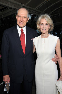 Constance Towers i el seu marit John Gavin Foto proporcionada per un publicista