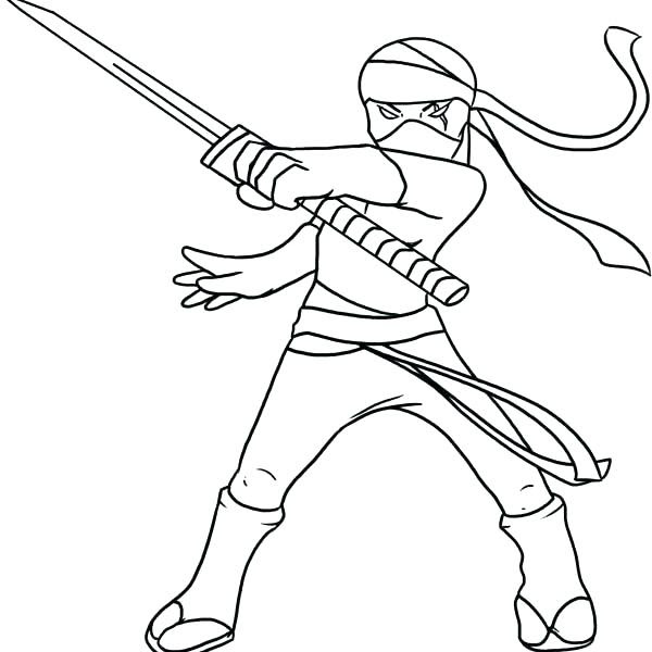 84 Print Ninja Coloring Book HD