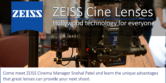 ZEISS Cine Lenses TECH TALK at Manhattan Edit Workshop