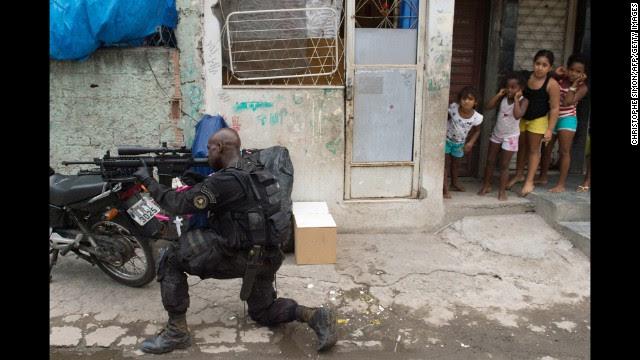 Brazil police invade favelas ahead of World Cup - Salon.com
