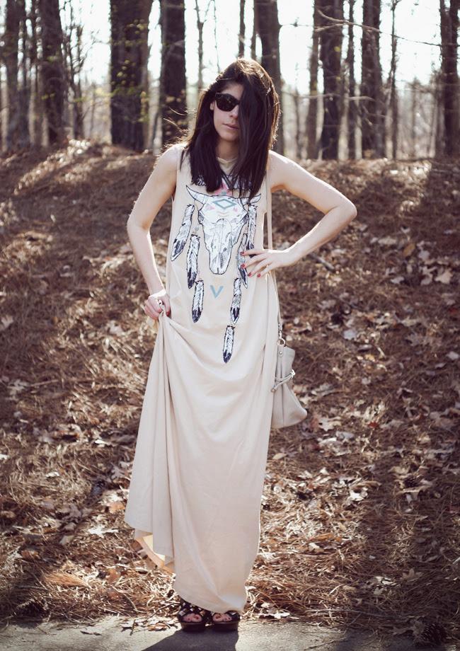 Wildfox Couture Maxi Dress, Fashion