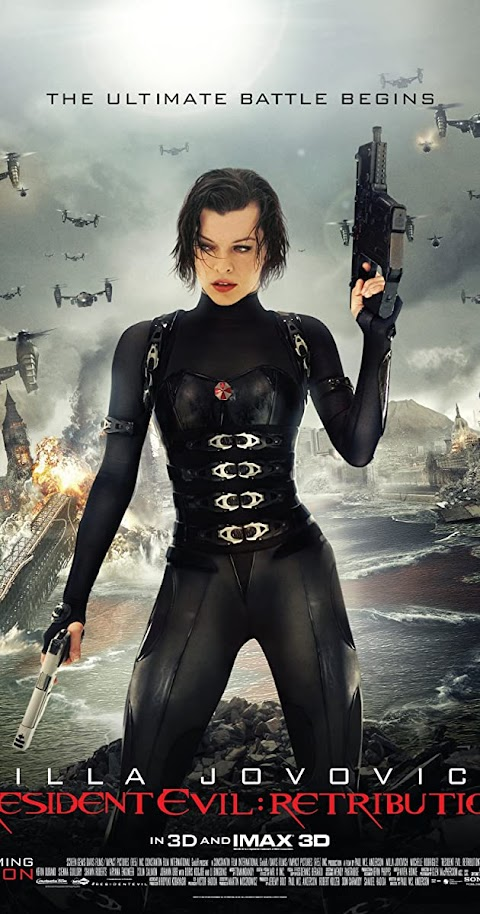 Resident Evil: Retribution (2012) 480p 720p 1080p BluRay Dual Audio (Hindi+English) Full Movie