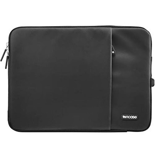 "Incase - Deluxe Protective Sleeve for 13"" Apple MacBook Pro - Black"