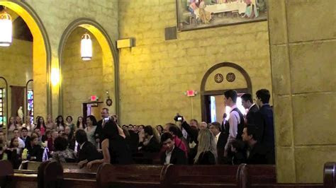 Wedding Ceremony Flash Mob at St Leo Abbey   YouTube
