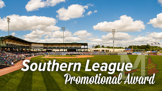 M-Braves Win Southern League Promotional Award | Mississippi Braves News