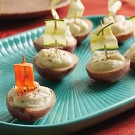 Potato Boat Recipe   Hallmark Ideas & Inspiration