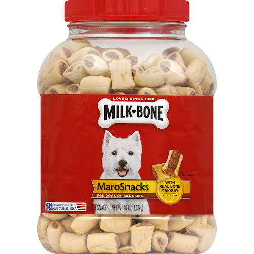 Milk Bone Dog Snacks, MaroSnacks - 40 oz jar