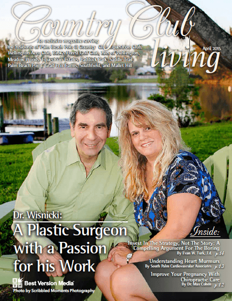 Dr. Wisnicki Featured in Country Club Living | Dr. Wisnicki