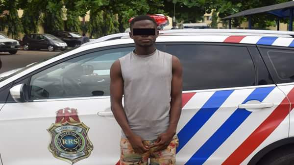Police Arrest Man Who Stole A Phone In Church In Ogun (Photo)