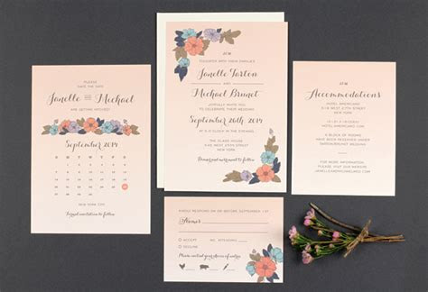New Wedding Invitations from Love Vs Design   Green