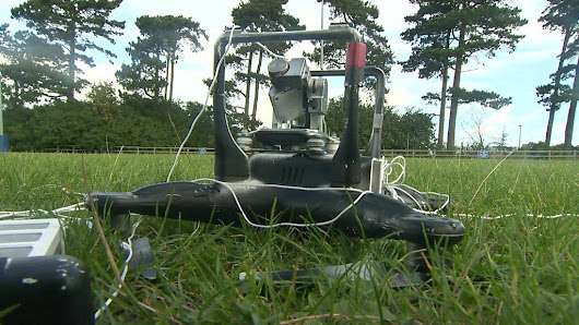 Bringing down an unwanted drone - BBC News