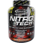 Muscletech Products NitroTech Performance Series Whey Isolate Lean Musclebuilder Milk Chocolate 3.97 lbs.