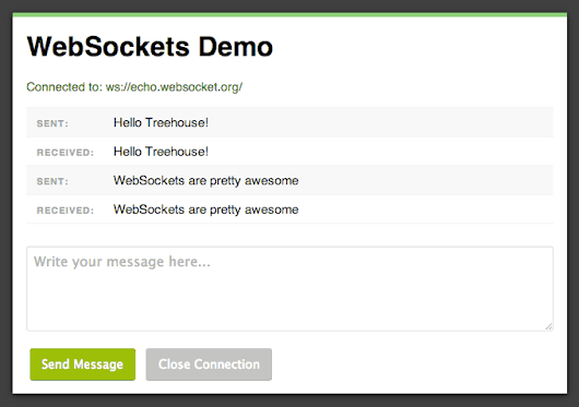 An Introduction to WebSockets - Treehouse Blog