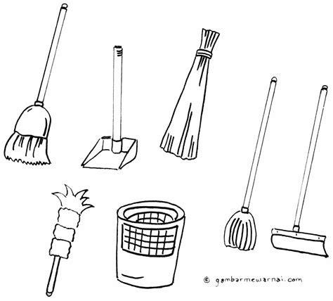 Ahmedatheism Gambar Mewarnai Kebersihan Lingkungan Sekolah