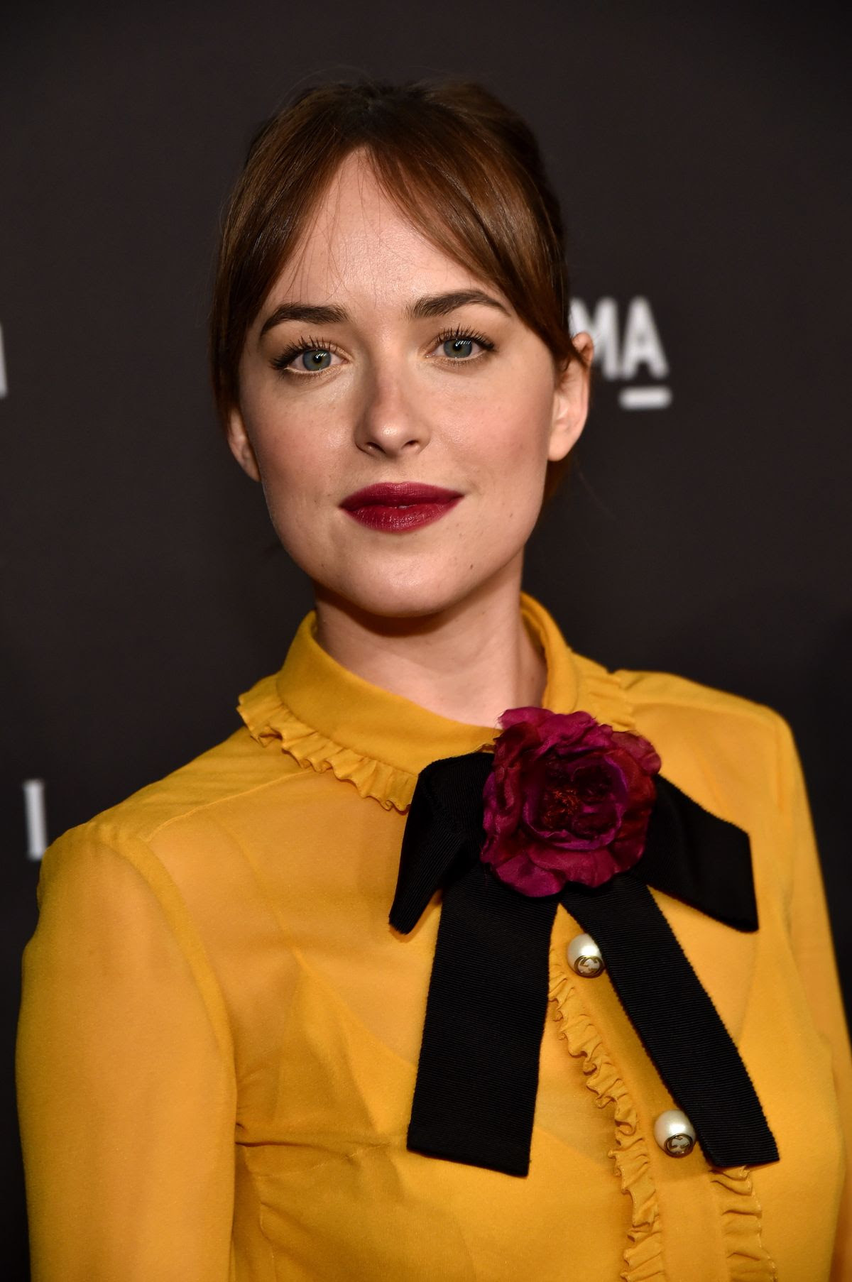 DAKOTA JOHNSON at LACMA 2015 Art+Film Gala Honoring James Turrell and Alejandro G Inarritu in Los Angeles 11/07/2015