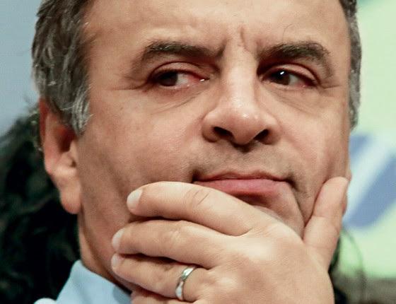 Aécio Neves senador (Foto:  Dudu Macedo / Fotoarena/ Agência  O Globo)