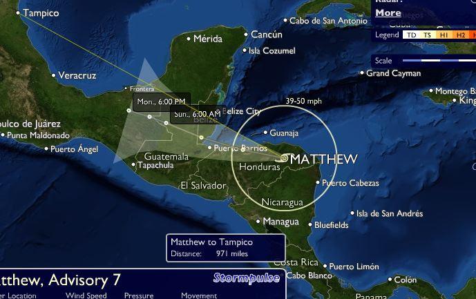 Resultado de imagen para tormenta tropical matthew