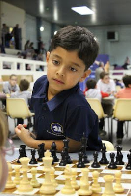 Rajat Makkar de Cannes échecs - Photo © Chess & Strategy