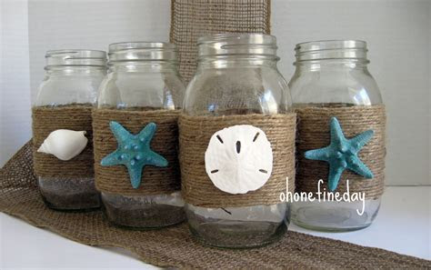 Oh One Fine Day: MASON JARS WEDDING PARTY DECORATIONS