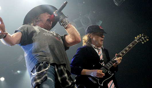 Concert review: AC/DC and Axl Rose shook Verizon Center all night long