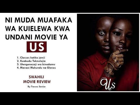 Ielewe kwa undani movie ya 'US' ya 2019 aliyocheza Lupita Nyongo yenye maana zilizojificha
