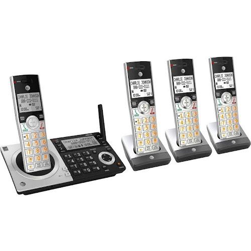 AT&T ATT CL83407 DECT 6.0 Digital Four Handset Cordless Phone