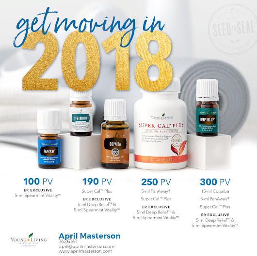 Young Living January 2018 Promotion!
