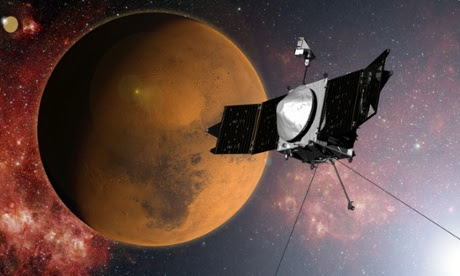 Nasa's Maven spacecraft could solve mystery of Mars's missing water