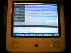eMac and GarageBand