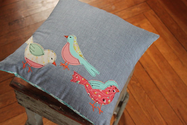 Spring Birdie Pillow GIVEAWAY!!!