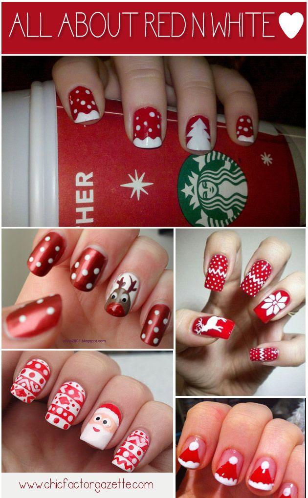 Noel nail art