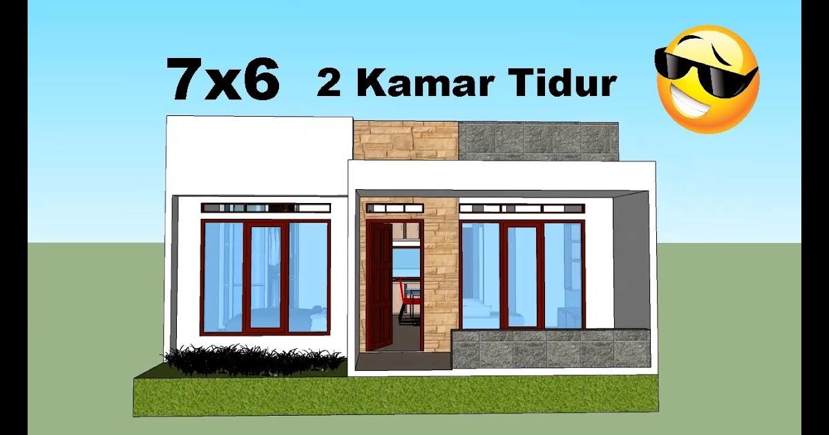 Desain Rumah Minimalis Ukuran 7x6 Desainhom