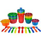 The First Years Take & Toss Variety Pack, 28 Piece, Multicolor