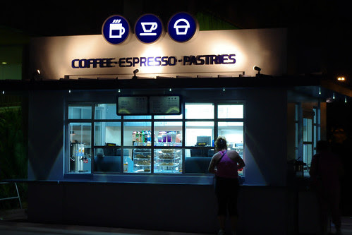 Coffee at Epcot Ticket Windows