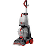 Hoover - Power Scrub Elite Corded Upright Deep Cleaner - Gray/red