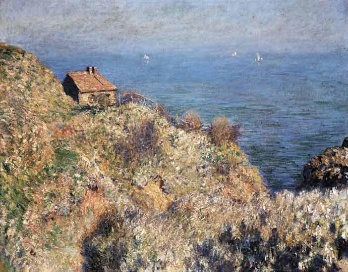 Claude Monet - La Casa de los aduaneros en Varengeville