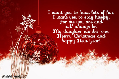 New Year Love Wishes For Her Greeting Card Christmas Wishes For