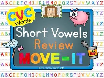 CVC Words MOVE IT!