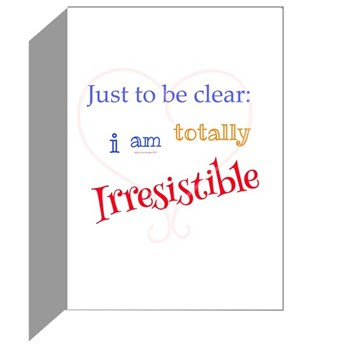 Irresistible Me Be Mine Greeting Cards (pk Of 10)