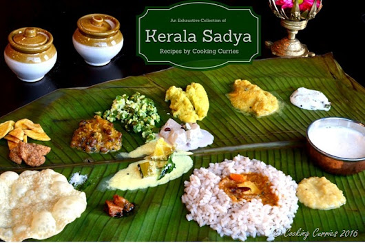 Kerala Sadya Recipes - Cooking Curries