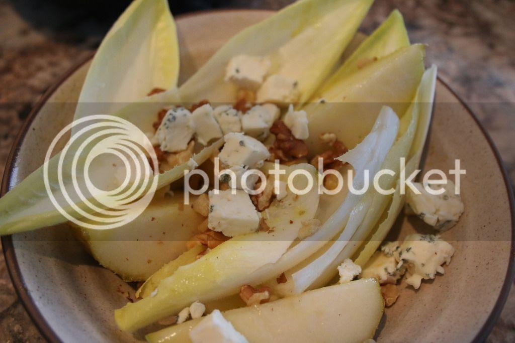 Barefoot Contessa Endive, Pear & Roquefort Salad