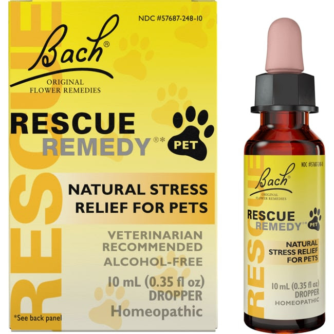 Bach Flower Essences Rescue Remedy Natural Stress Relief ...