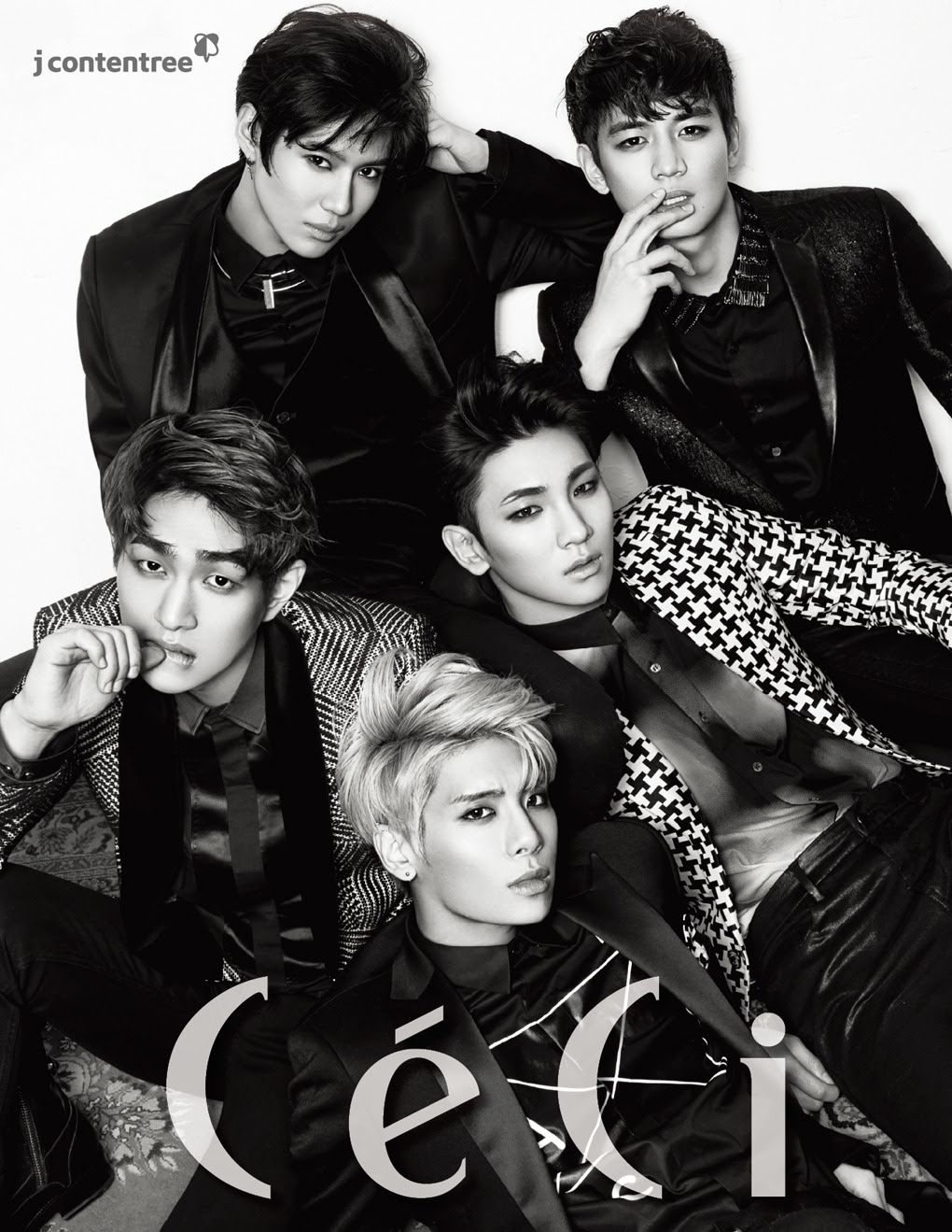 SHINee - Ceci Magazine December Issue '14