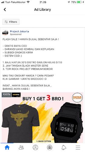 Toko On Line Admiral Authentic Official Store di Lazada & Project Jakarta di FB, Barang Tidak Sesuai Iklannya oleh - sablonmurahkaos.online