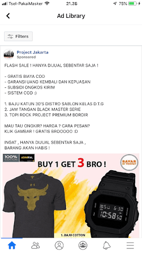 Toko On Line Admiral Authentic Official Store di Lazada & Project Jakarta di FB, Barang Tidak Sesuai Iklannya oleh - sablonkaosbola.xyz